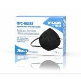 FFP2 Maske schwarz Hygisun