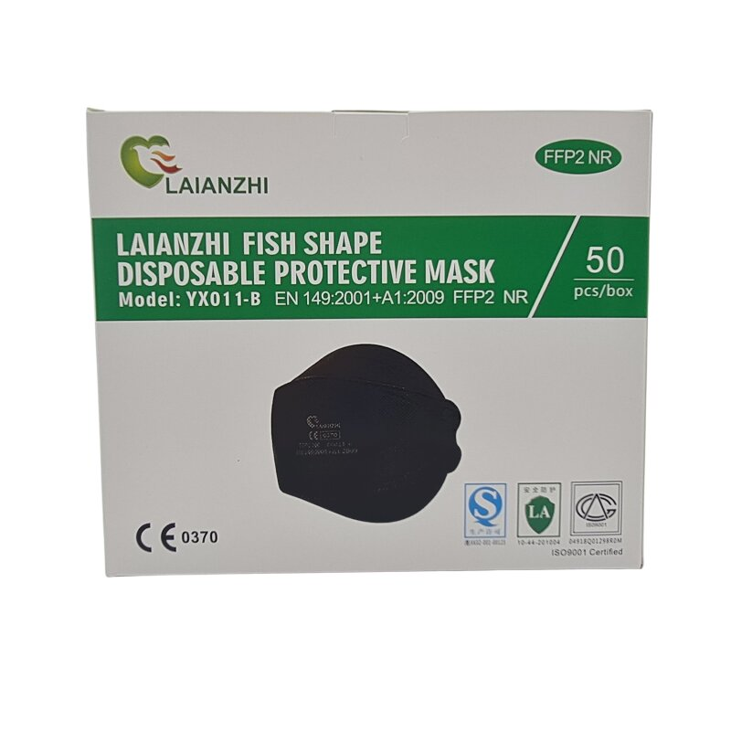 FFP2 Maske schwarz Laianzi