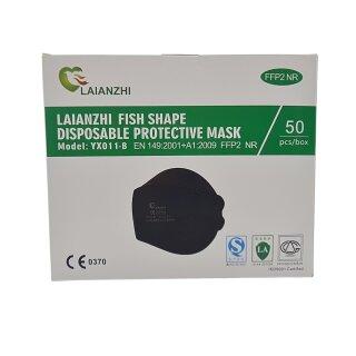 FFP2 Maske schwarz Laianzhi